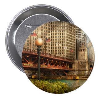 Chicago, IL - puente de DuSable construido en 1920 Pins