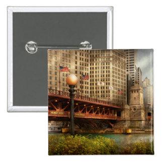 Chicago, IL - puente de DuSable construido en 1920