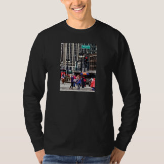Chicago IL - Rainy Day on E Wacker Drive Shirt
