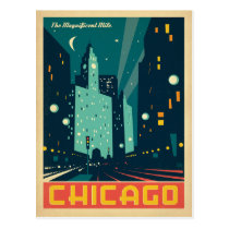 Chicago, IL - The Magnificent Mile 2 Postcard