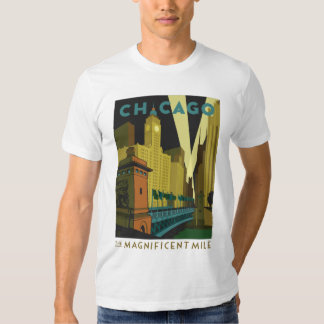 Chicago, IL - The Magnificent Mile Shirts