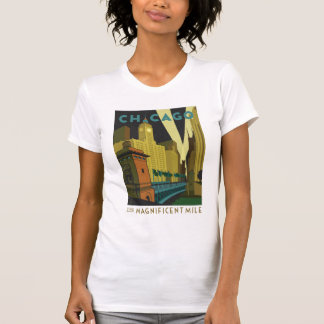 Chicago, IL - The Magnificent Mile T Shirts