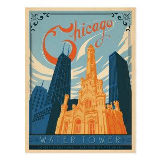Chicago, IL - torre de agua Postal