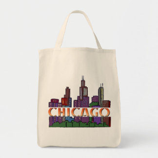 Chicago  IL Tote Bag