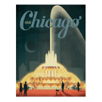Chicago, IL - Visit Chicago Postcard