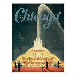 Chicago, IL - Visit Chicago Postcard