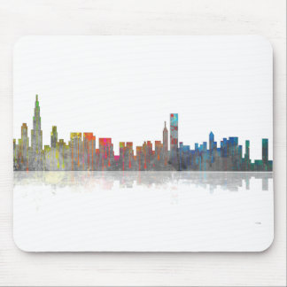 Chicago Illinios Skyline Mouse Pad