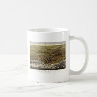 Chicago Illinois, 1874 Coffee Mug