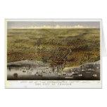 Chicago Illinois, 1874 Felicitación