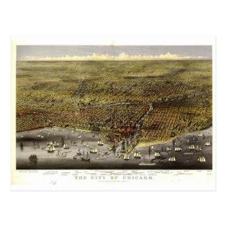 Chicago Illinois, 1874 Postcard