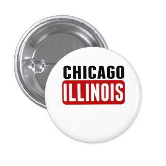 Chicago Illinois 1 Inch Round Button