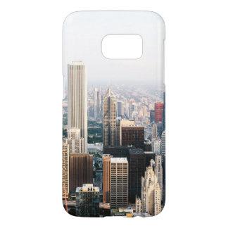 Chicago Illinois Aerial View Samsung Galaxy S7 Case