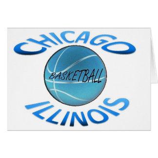 Chicago Illinois Basketball Card