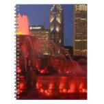 Chicago, Illinois, Buckingham Fountain Notebooks