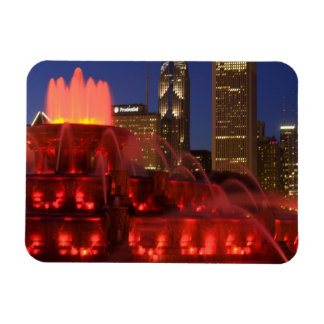 Chicago, Illinois, Buckingham Fountain Rectangle Magnets