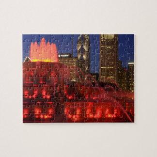 Chicago, Illinois, Buckingham Fountain Puzzles