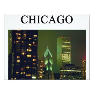CHICAGO illinois Card