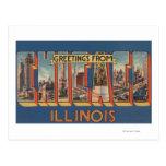 Chicago, Illinois - escenas grandes 2 de la letra Tarjeta Postal