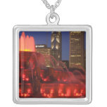 Chicago, Illinois, fuente de Buckingham Collar Plateado