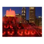 Chicago, Illinois, fuente de Buckingham Postal