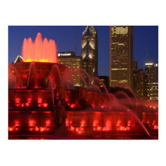 Chicago, Illinois, fuente de Buckingham Postales
