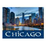 Chicago Illinois horizonte de los E.E.U.U. - Tarjetas Postales