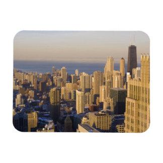 Chicago, Illinois, horizonte del Torre Sears Imanes De Vinilo