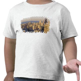 Chicago, Illinois, horizonte del Torre Sears Camisetas