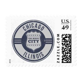 Chicago, Illinois ( IL ) , United States USA Postage