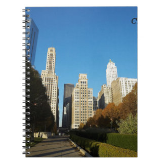 Chicago Illinois IL US Travel Notebook