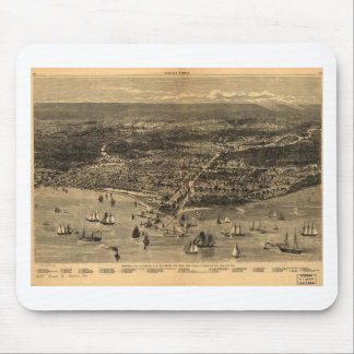 Chicago, Illinois in 1871 Mouse Pad