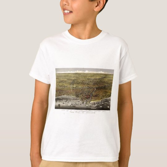 Chicago, Illinois in 1874 T-Shirt