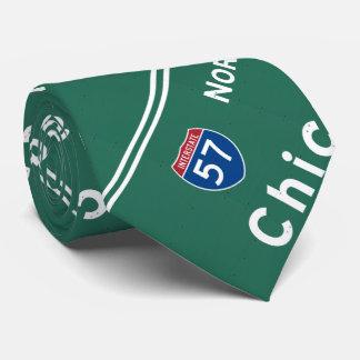 Chicago Illinois Interstate Highway Freeway Road : Tie