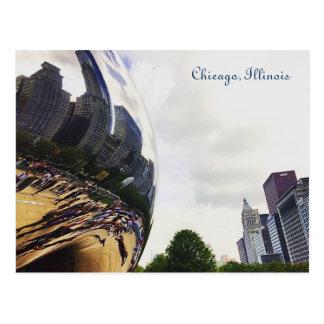 Chicago Illinois la postal de la haba