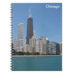 Chicago, Illinois Libro De Apuntes Con Espiral