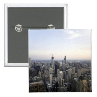 Chicago, Illinois, los E.E.U.U. 3 Pin Cuadrada 5 Cm