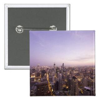 Chicago, Illinois, los E.E.U.U. 5 Pin Cuadrada 5 Cm