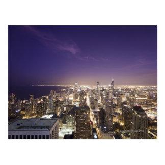Chicago, Illinois, los E.E.U.U. 7 Tarjeta Postal