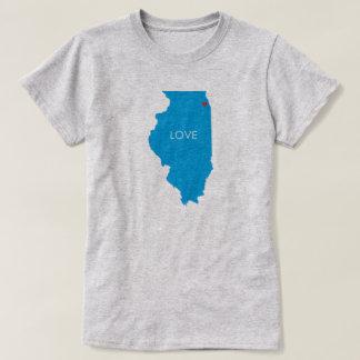 Chicago Illinois Love this City T-shirt