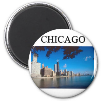 CHICAGO illinois Fridge Magnets
