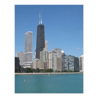 Chicago, Illinois Membrete A Diseño