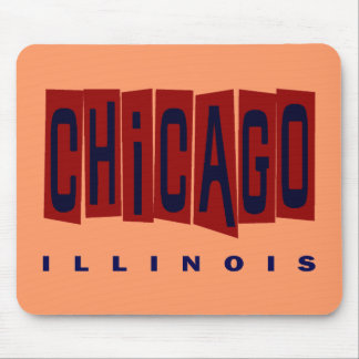 CHICAGO, ILLINOIS MOUSE PAD
