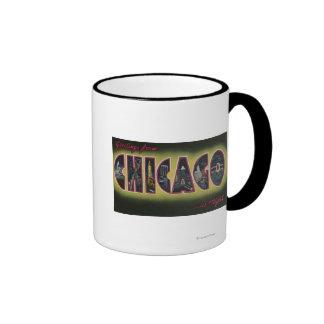 Chicago, Illinois (Nighttime) Mug