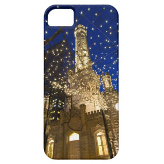Chicago, Illinois, Old Water Tower with holiday iPhone 5 Cases
