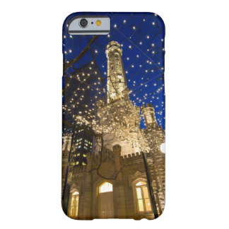 Chicago, Illinois, Old Water Tower with holiday Barely There iPhone 6 Case