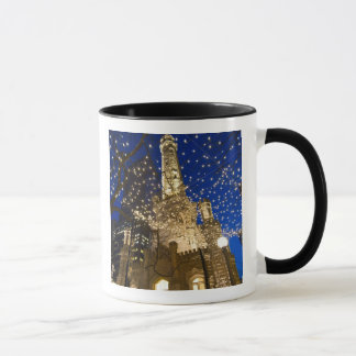 Chicago, Illinois, Old Water Tower with holiday Mug