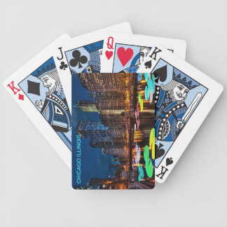 CHICAGO ILLINOIS DECK OF CARDS