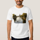 Chicago, Illinois, Rowers in Lincoln Park lagoon T-shirt