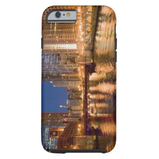 Chicago, Illinois, Skyline and Chicago River at 2 Tough iPhone 6 Case
