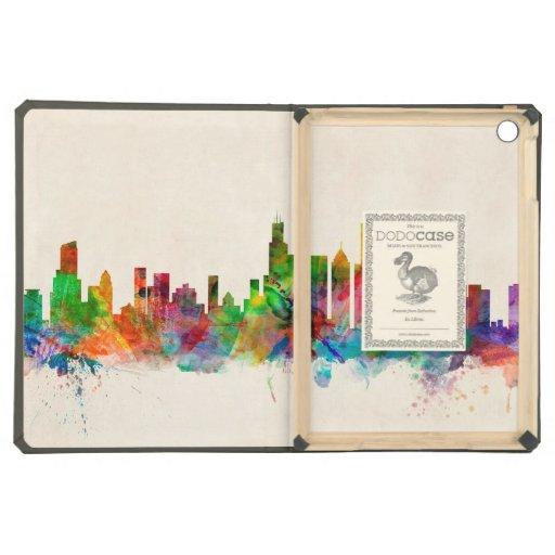 Chicago Illinois Skyline Cityscape iPad Air Cases